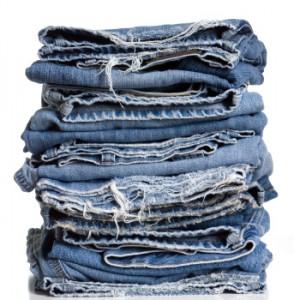 % Как подшить низ джинсов сохраняя фабричный шов