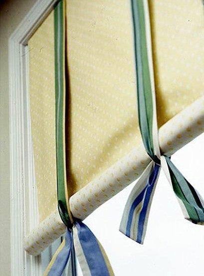 Как сделать шторы-жалюзи своими руками