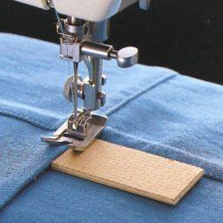 Толстый шов на швейной машинке (шитье и крой)