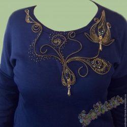 Преображаем простое платье (шитье и крой)