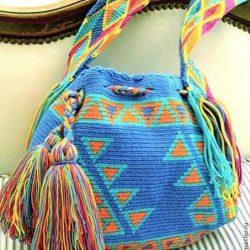 Колумбийские сумки (Вязание крючком)