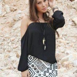 Выкройка блузы Размеры 38-52 (Шитье и крой)