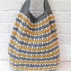 Сумка-мешок (Вязание крючком)