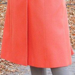 Незаметная подгибка низа пальто (Шитье и крой)