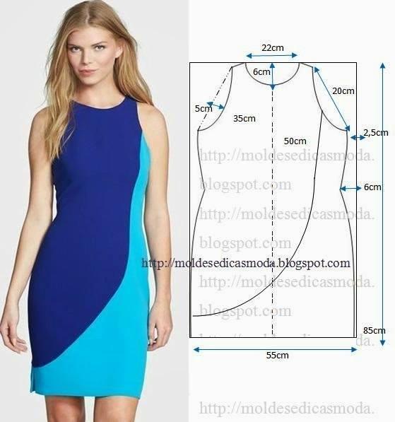 Шитье летние платья выкройки