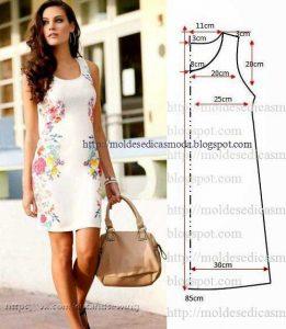Выкройка летнего платья (Шитье и крой)