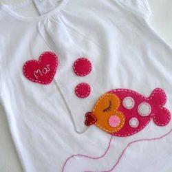 Идеи декора детских футболок (Шитье и крой)