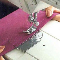 Способы выполнения трикотажных швов на обычной швейной машине (Шитье и крой)