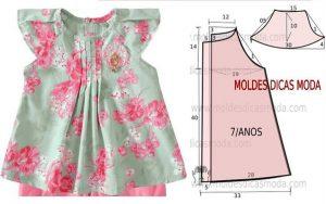 Подборка выкроек платьев для девочек (Шитье и крой)