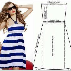 Шьем летние платье (Шитье и крой)