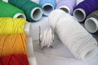 Использование нитки-резинки для создания складок на ткани (Шитье и крой)