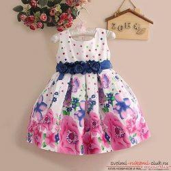 Платья для маленьеих девочек. Выкройки (Шитье и крой)