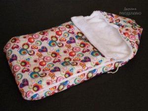 Теплый конверт на выписку для новорожденных (Шитье и крой)