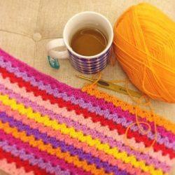 Узор для вязания пледа (Уроки и МК по ВЯЗАНИЮ)