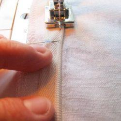 Вшивание потайной молнии с помощью разметки (Шитье и крой)