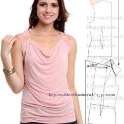 Блузы. Выкройки (Шитье и крой)