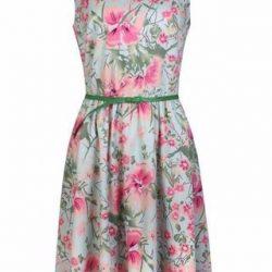 Платье с цветочным принтом. Выкройка (Шитье и крой)