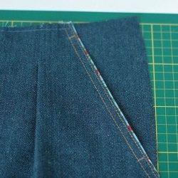 МК Обработка кармана с отрезным бочком и декоративным кантом (Шитье и крой)