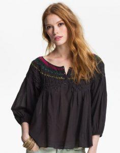 Основа для блузы-«крестьянки» за 30 минут (Шитьё и крой)