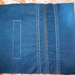 Прорезные карманы с листочкой (Шитье и крой)