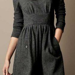 Выкройка трикотажного  платья, размер 48-56 (Шитье и крой)