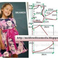Выкройки летних платьев для девочек (Шитье и крой)