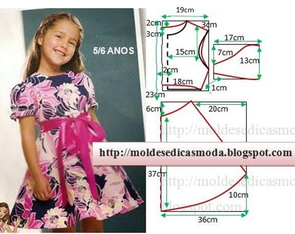 Платья для детей летние выкройка