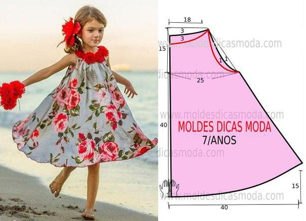 Шитье платьев для девочки