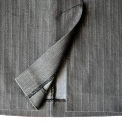Обработка шлицы на юбке (Шитье и крой)