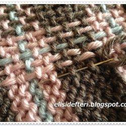 Штопка вязаного полотна ( Уроки и МК по ВЯЗАНИЮ)