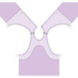 Обработка горловины и проймы единой обтачкой (Шитье и крой)