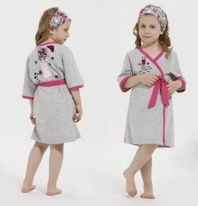 Выкройка махрового халатика для девочки (Шитье и крой)