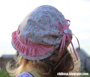 Шляпка  для девочки (Шитье и крой)
