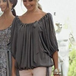 Модная блузка (Шитье и крой)