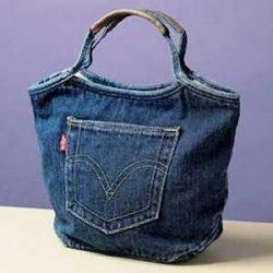 Выкройка сумки из джинсов – просто сшить (Шитье и крой)