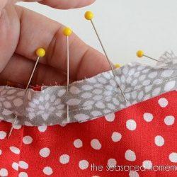 Простейший способ обработки срезов косой бейкой (Шитье и крой)