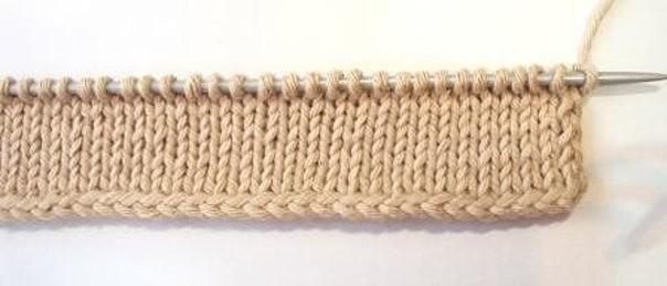 Вязаная шапка спицами от Daliya: Вязание на 29
