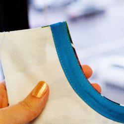 Обработка косой бейкой проймы платья на подкладке (Шитье и крой)