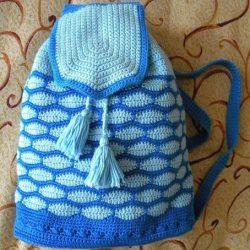 Рюкзак крючком (Вязание крючком)