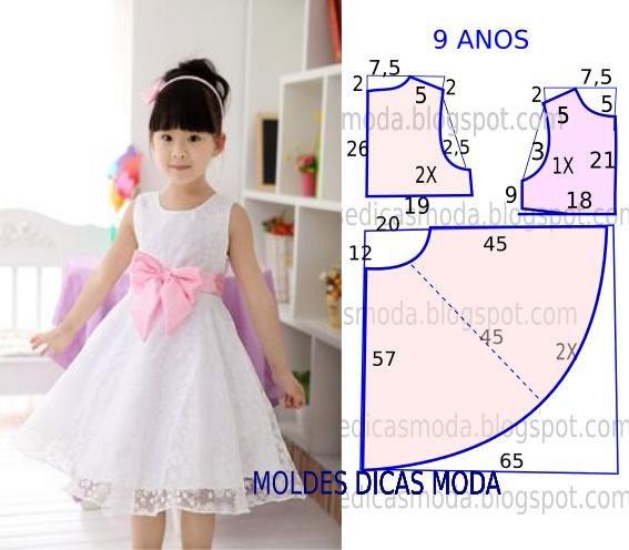Детские нарядные платья выкройки