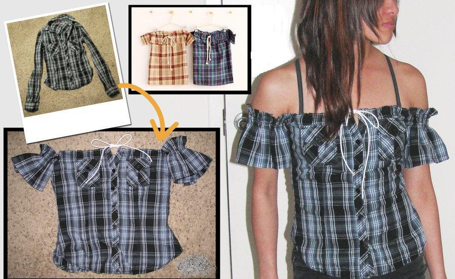 Что можно сделать из старой женской рубашки своими руками - Status-style.ru