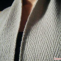 Солидный мужской шарф (Вязание спицами)