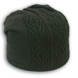 Мужская шапка (Вязание спицами)
