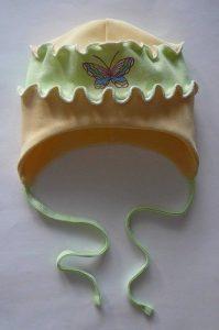 Трикотажная шапочка для малышек (Шитье и крой)