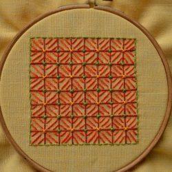 Идея для простой и стильной вышивки