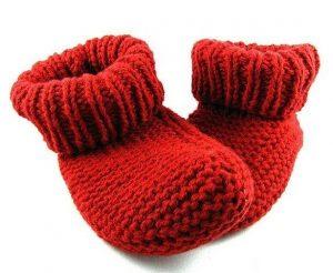 Простые носочки спицами (Вязание спицами)