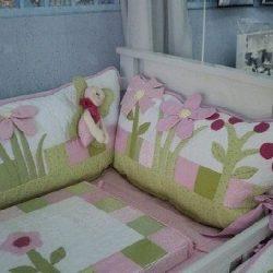 Бортик для детской кроватки (Шитье и крой)