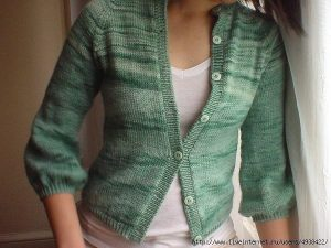 МК — Как превратить свитер в кардиган (Уроки и МК по ВЯЗАНИЮ)