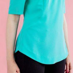 Вот как можно  подшить трикотажную футболку  без оверлока (Шитье и крой)