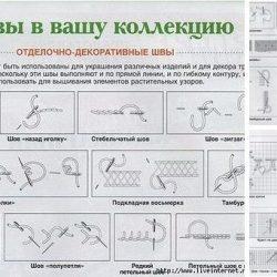 Декоративные швы (Шитье и крой)